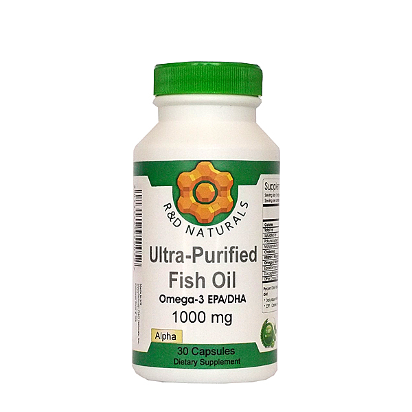 ultra purified fishoil